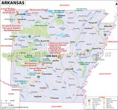 Time Zone Map United States by Arkansas Map Map Of Arkansas Ar