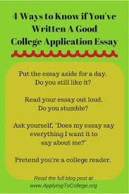 How to write the Common Application essay   Applying To College Applying To College