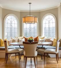 cool beveled glass trend atlanta transitional dining room
