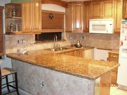 Small Kitchen With White Cabinets Furniture Cozy Giallo Ornamental For Countertop Material Ideas