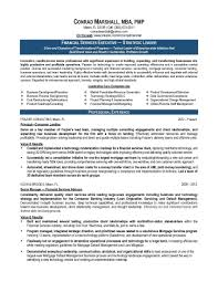 Financial Resume Sample by 10 Project Manager Resume Objective Riez Sample Resumes Sample