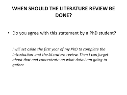 DAL     The literature review  THE LITERATURE REVIEW as background     SlidePlayer HOW LONG SHOULD IT BE  Not more than     of the whole text