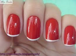 75 best french nails uñas francesas images on pinterest french