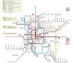 Metro Lines Map by Go For New Orange Metro Line In Bangkok