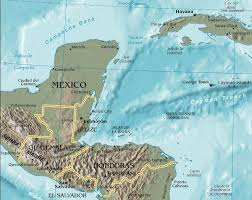 Map Of Western Caribbean by