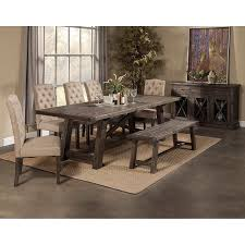 amazon com alpine newberry extension dining table tables