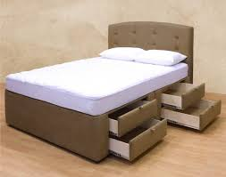 bed frames bed with drawers full size storage bed frame queen
