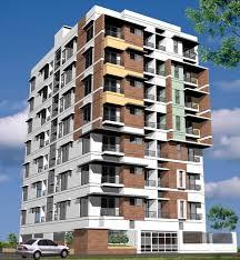 Modern Apartment Building Design Illustration Buildings - Apartment building design
