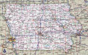 United States Map Major Cities by Large Detailed Roads And Highways Map Of Iowa State With Cities