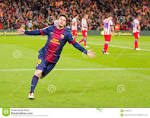 Messi Celebrating A Goal Editorial Stock Image - Image: 31968764