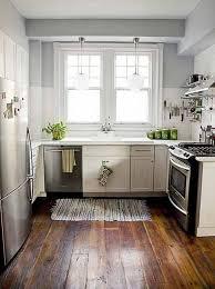 Mini Kitchen Cabinet Tiny L Shaped Kitchen Design Black Bar Stool Floating Shelf Metal