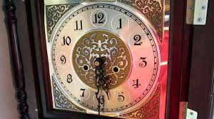 Grandmother Clock Custom Cheap Wood Grandfather Clock With Hermle Triple Chime