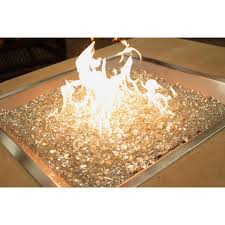 Fire Pit Burner by Amazon Com Stainless Steel Crystal Fire Burner Square Fire