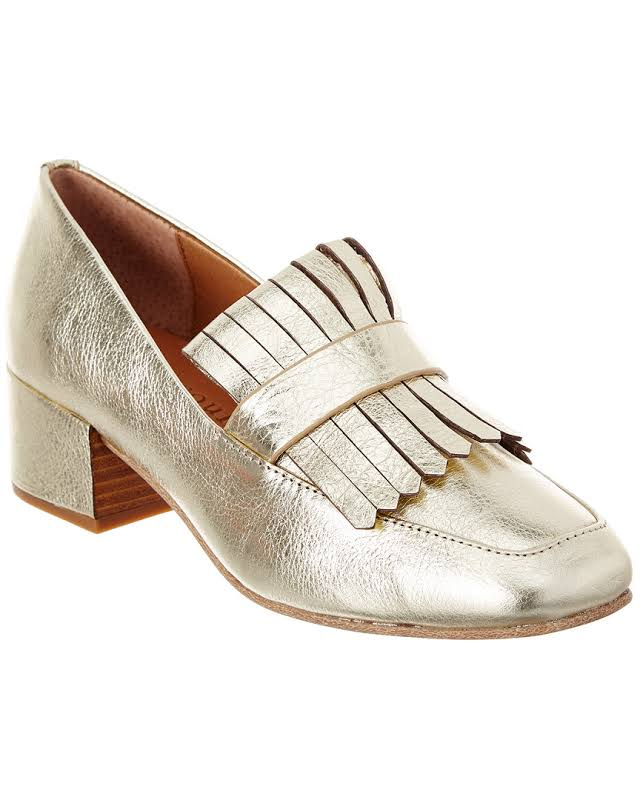 Gentle Souls GS02149MB Square Toe Mary Jane Pumps, Soft Gold,