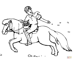 cute shetland pony coloring page free printable coloring pages