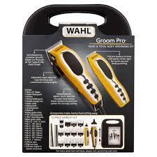 wahl 79520 3101p groom pro total body hair clipper grooming kit