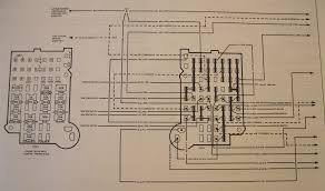 Fleetwood Bounder Floor Plans by Fuse Panel Location 1998 Chevrolet P 30 Fleetwood Bounder