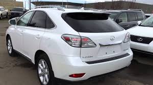 lexus vehicle prices pre owned white 2010 lexus rx 350 awd touring package review
