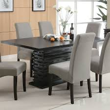 black dining room sets home office furniture glass top table