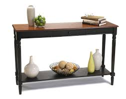 amazon com convenience concepts french country console table with