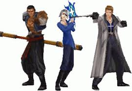 Final Fantasy VIII - Raijim,Fujim e Seifer