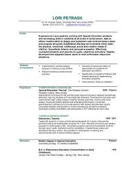 Resume Format For Teachers Job by Download Resume Examples For Teachers Haadyaooverbayresort Com