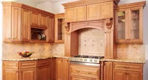kitchen backsplash ideas with cherry cabinets craftsman entry