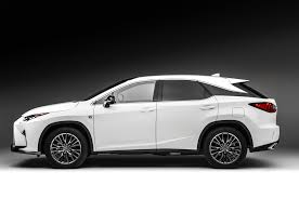 lexus suv with third row lexus may announce intent to build three row rx soon photo u0026 image