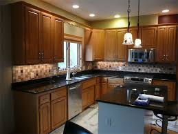 kitchen installing glass tile sheets backsplash granite