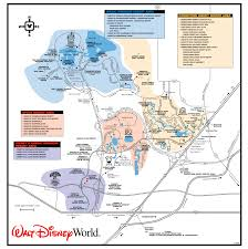 Printable Map Of Disney World Get To Know The Disney World Transportation And Ticket Center Ttc