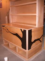 Plans For Making Toy Box woodworking plans toy box with cubbies and bookshelf