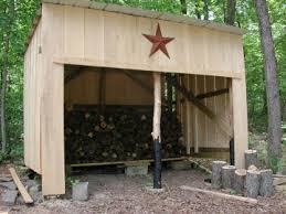 How To Build A Storage Shed Plans Free by 10 Wood Shed Plans To Keep Firewood Dry The Self Sufficient Living