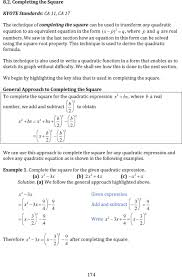 quadratic equation transformations jennarocca