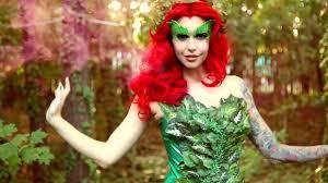 Poison Ivy Halloween Costume Kids Poison Ivy Makeup U0026 Costume Tutorial Halloween 2015