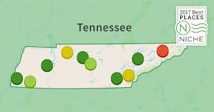 West Tennessee Map by 2017 Best Places To Live In Tennessee Niche
