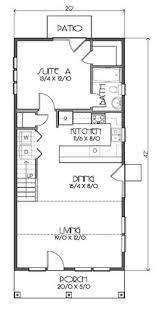 Small Cottage Floor Plan 14 U0027 X 32 U0027 Plans Tiny Houses Cottages And Cabins Pinterest