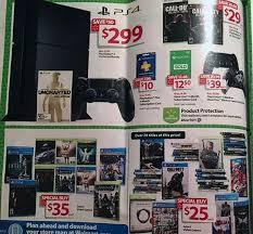 ps4 games black friday walmart black friday deals include 299 ps4 u0026 xb1 bundles