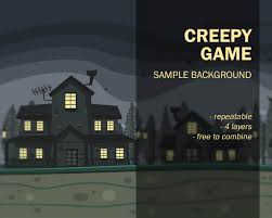 repeatable halloween background artwesome game arts illustration cartoon design service