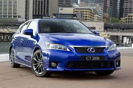 lexus ct hybrid performance new lexus ct 200h f sport receives world premiere at 2010 sydney show