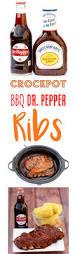 crockpot bbq pork ribs recipe dr pepper the frugal girls