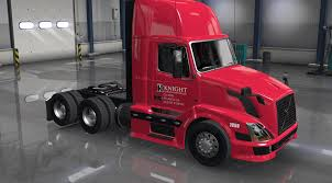 american volvo trucks knight transport skin for volvo shop v3 0 american truck