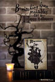 Vintage Halloween Printables by 97 Best Halloween Decorating U0026 Diy Images On Pinterest Art