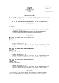 Sample Resume Objectives For Job Fair by Resumes Objectives Resume Template Builder Resume Objective Sample