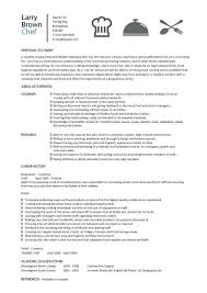 Resume Job Profile by Chef Resume Sample Examples Sous Chef Jobs Free Template