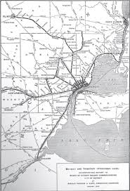Detroit Michigan Map by Check Out This Map Of Detroit U0027s Electric Rail System In 1915 The