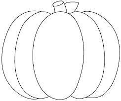 25 pumpkin outline ideas