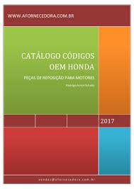 catalogo códigos oem honda www afornecedora com br gx