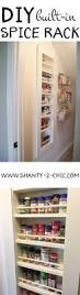 Best Spice Racks For Kitchen Cabinets Best 25 Wall Mounted Spice Rack Ideas On Pinterest Kitchen