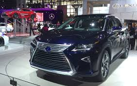 lexus hybrid rx450 2016 lexus rx 450h and rx 350 debut at the 2015 new york auto show
