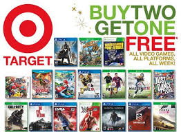 target xbox one bundle black friday november 9 2014 target ad has a buy 2 get 1 free game deal